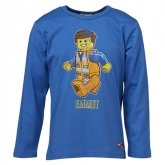 LEGO T-Shirt Movie BLAUW (Tristan 111 Maat 110)