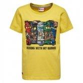 LEGO T-Shirt Ninjago GEEL (Teo 101 Maat 128)