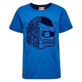LEGO T-Shirt Ninjago BLAUW (Teo 102 Maat 134)