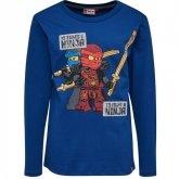 LEGO T-Shirt Ninjago BLAUW (TEO 733 Maat 134)