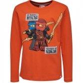 LEGO T-Shirt Ninjago ORANJE (TEO 733 Maat 140)