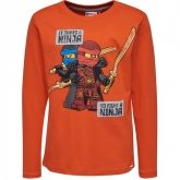 LEGO T-Shirt Ninjago ORANJE (TEO 733 Maat 146)