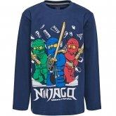 LEGO T-Shirt Ninjago DONKERBLAUW (M-71788 Maat 104)