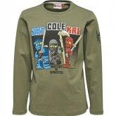LEGO T-Shirt Ninjago GROEN (Teo 625 Maat 116)