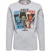 LEGO T-Shirt Ninjago GRIJS (Teo 625 Maat 140)