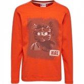 LEGO T-Shirt Ninjago ORANJE (Teo 622 Maat 122)