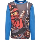 LEGO T-Shirt Ninjago BLAUW (Teo 613 Maat 122)