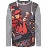 LEGO T-Shirt Ninjago GRIJS (Teo 613 Maat 140)