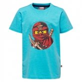 LEGO T-Shirt Ninjago BLAUW (Thomas 302 Maat 104)
