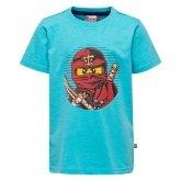 LEGO T-Shirt Ninjago BLAUW (Thomas 302 Maat 140)