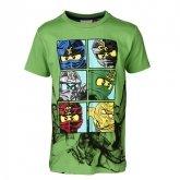LEGO T-Shirt Ninjago GROEN (Timmy 601 - Maat 140)