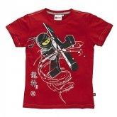 LEGO T-Shirt Ninjago ROOD (Terry 401 Maat 116)