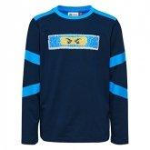 LEGO T-Shirt Ninjago BLAUW (Tiger 106 - Maat 134)