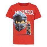 LEGO T-Shirt Ninjago ROOD (CM-51113 - Maat 104)