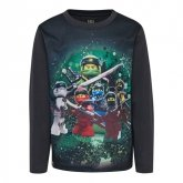 LEGO T-Shirt Ninjago DONKERGRIJS (CM-51130 - Maat 116)