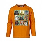 LEGO T-Shirt Star Wars ORANJE (Timmy 356 Maat 134)