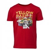 LEGO T-Shirt ROOD (Tony 316 Maat 128)