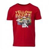 LEGO T-Shirt ROOD (Tony 316 Maat 104)