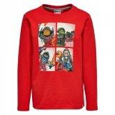 LEGO T-Shirt Nexo Knights ROOD (Tony 808 Maat 122)