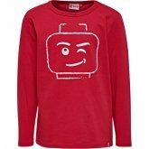 LEGO T-Shirt ROOD (TEO 710 Maat 104)