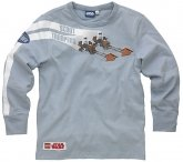 LEGO T-Shirt Scout Troopers GRIJS (Tom 111 Maat 140)