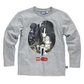 LEGO T-Shirt Star Wars Heroes GRIJS (Terry 122 Maat 110)