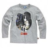 LEGO T-Shirt Star Wars Heroes GRIJS (Terry 122 Maat 116)