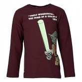 LEGO T-Shirt Star Wars Yoda BORDEAUX (Thor 754 Maat 104)