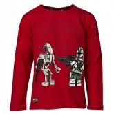LEGO T-Shirt Star Wars ROOD (Tristan 153 Maat 104)