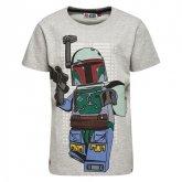 LEGO T-Shirt Star Wars LICHTGRIJS (Teo 150 Maat 122)