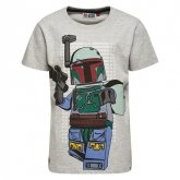 LEGO T-Shirt Star Wars LICHTGRIJS (Teo 150 Maat 140)