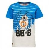 LEGO T-Shirt Star Wars BLAUW (Teo 353 Maat 128)