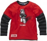 LEGO T-Shirt Stormtrooper ROOD (Tom 113 Maat 146)