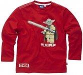 LEGO T-Shirt Yoda ROOD (Tom 114 Maat 128)