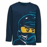 LEGO T-shirt DONKERBLAUW (M-72167 Maat 140)