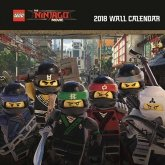 LEGO The Ninjago Movie Wall Calendar 2018