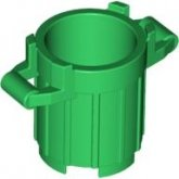 LEGO Trash Can GREEN (100 pcs)