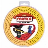 MAYKA Toy Block Tape 4-nop 2 meter GEEL