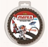 MAYKA Toy Block Tape 2-studs 1 meter BLACK