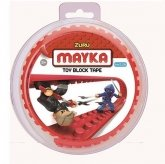 MAYKA Toy Block Tape 2-nop 1 meter ROOD