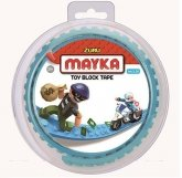 MAYKA Toy Block Tape 2-studs 1 meter AZURE