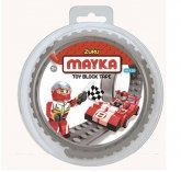 MAYKA Toy Block Tape 2-nop 1 meter GRIJS