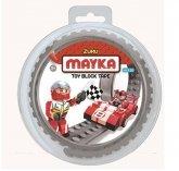 MAYKA Toy Block Tape 2-nop 1 meter DONKERGRIJS