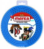 MAYKA Toy Block Tape 2-nop 2 meter BLAUW