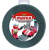 MAYKA Toy Block Tape 2-nop 2 meter GRIJS