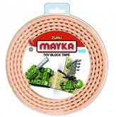 MAYKA Toy Block Tape 2-studs 2 meter TAN
