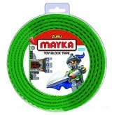 MAYKA Toy Block Tape 2-nop 2 meter GROEN
