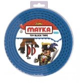 MAYKA Toy Block Tape 4-nop 2 meter BLAUW
