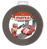 MAYKA Toy Block Tape 4-nop 2 meter GRIJS