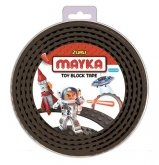 MAYKA Toy Block Tape 4-nop 2 meter ZWART